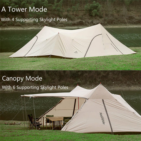 Image of Naturehike Cloud Desk A Tower Canopy Tent