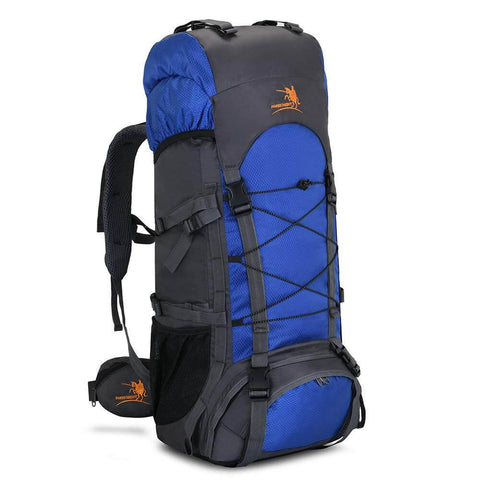 60L Internal Frame Hiking Backpack with Rain Cover