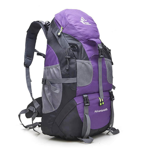 Image of 50L Lightweight Water Resistant Hiking Backpack,Outdoor Sport Daypack Travel Bag