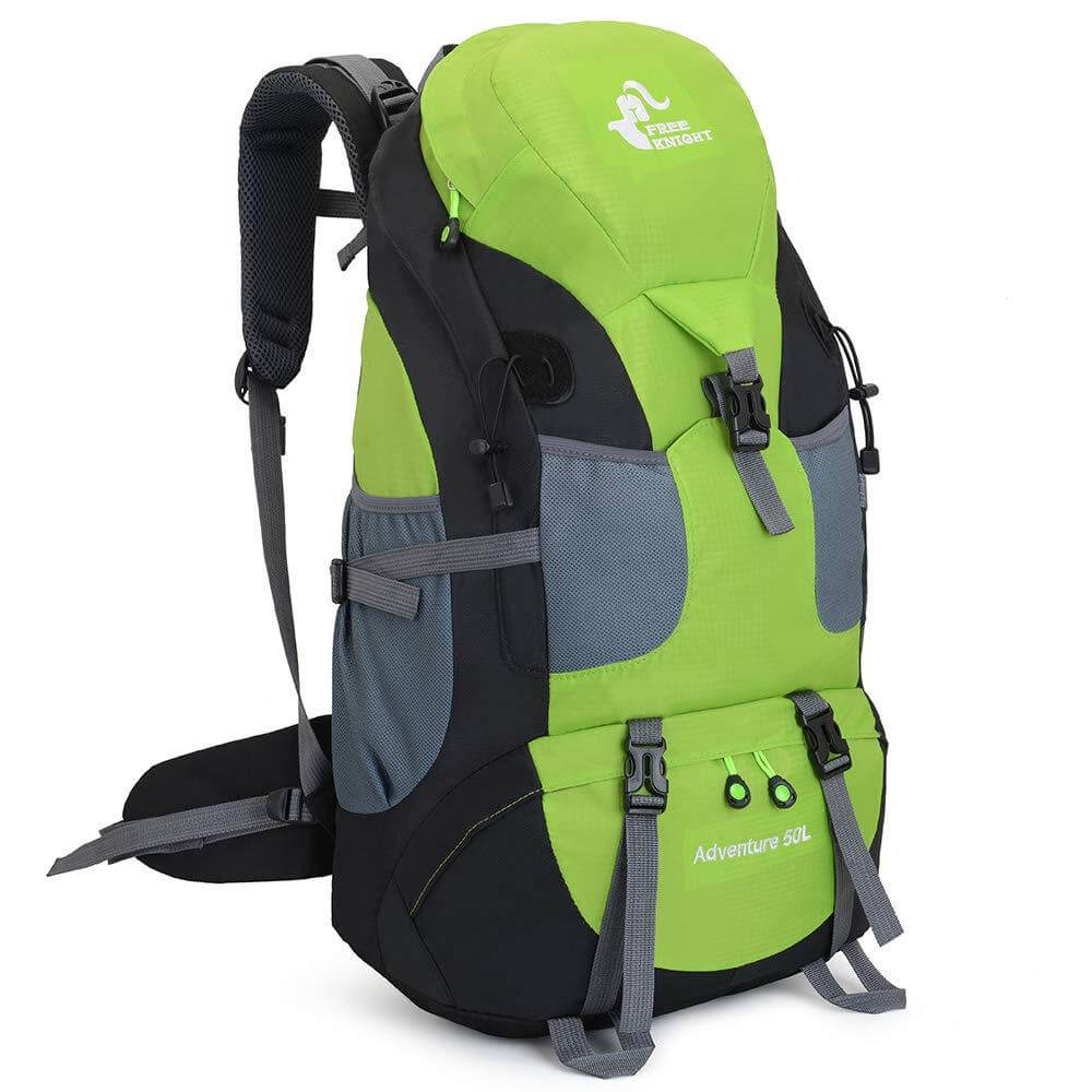 50L Lightweight Water Resistant Hiking Backpack,Outdoor Sport Daypack Travel Bag