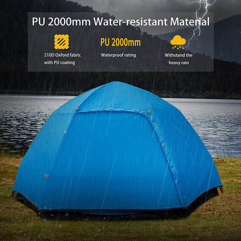 Automatic  Waterproof 3-5 Person Outdoor Camping Tent