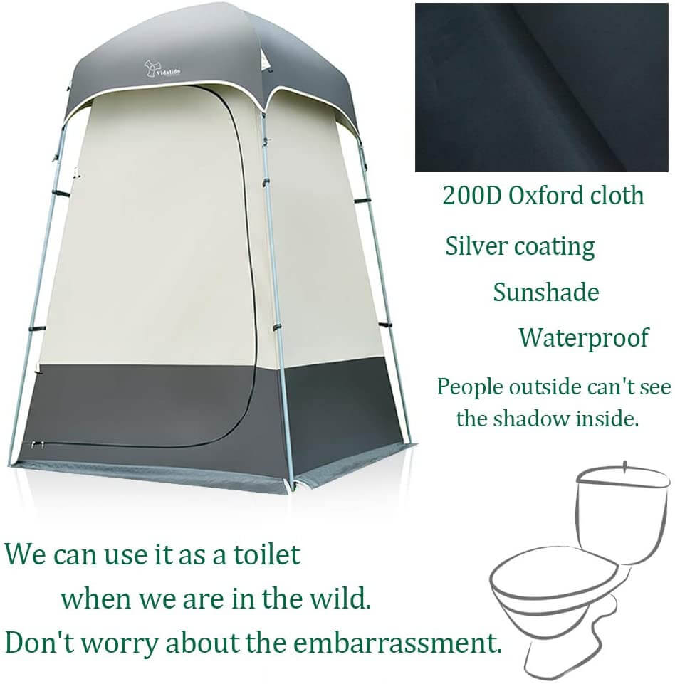 Outdoor Shower Tent Changing Room