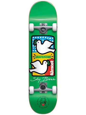 Almost Complete Double Doves Green Skateistan 7.5