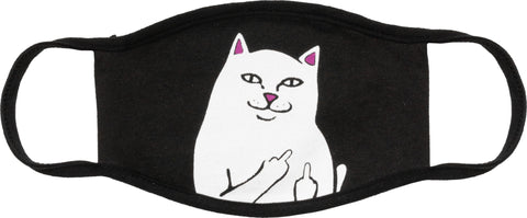 RipnDip Lord Nermal Face Mask Black