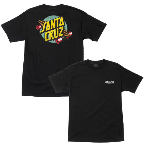 Santa Cruz Summer Of 76 Tee Black