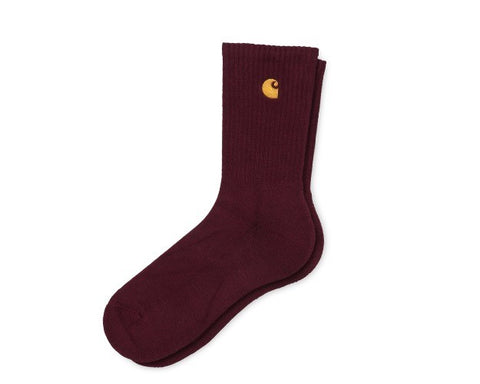 Carhartt Chase Socks Bordeaux/Gold