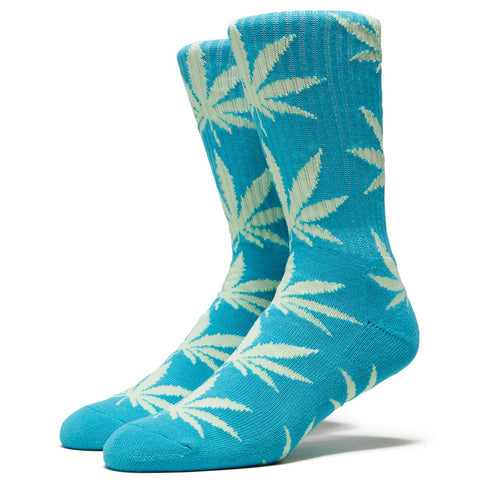 Huf Essentials Plantlife Socks Aqua