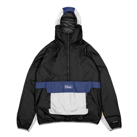 Dime Ripstop Pullover Jacket Black