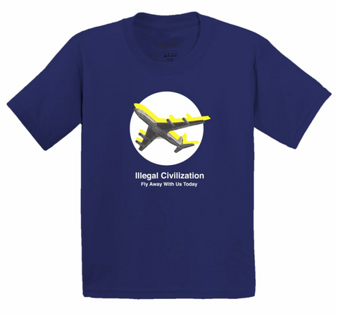 Illegal Civ Fly Away Tee Navy
