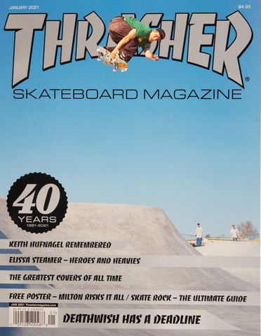 Thrasher Magazine Januari 2021