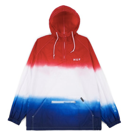 Huf 4th Of July Gradient Washed Anorak