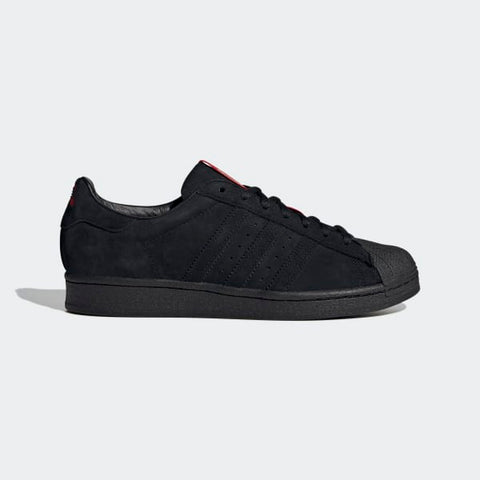 Adidas Superstar x Thrasher Black/Scarlet/Gold