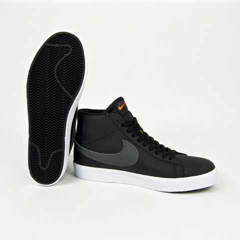 Nike SB Blazer Mid ISO Black Dark Grey