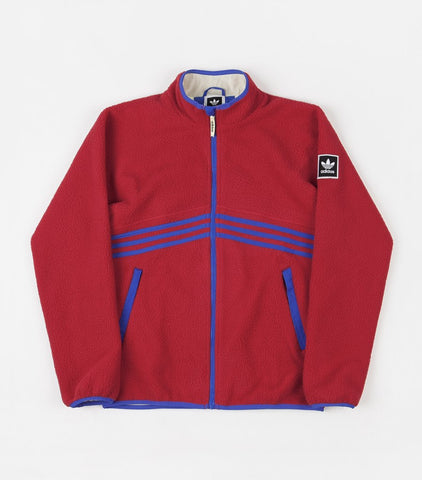 Adidas Sherpa Full Zip Red/Blue/Yellow