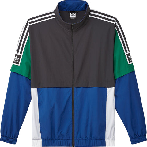 Adidas STDRD 20 Jacket Carbon/Royale/Green