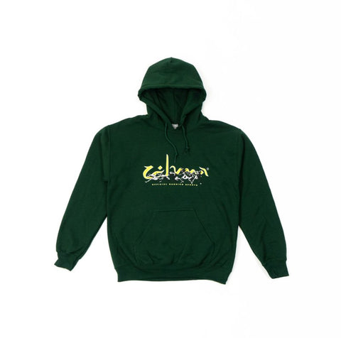 Zehma Running Sports Hood Green