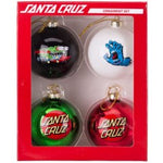 Santa Cruz Xmas Ornament Set