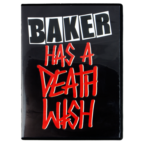Baker Has A Deathwish DVD