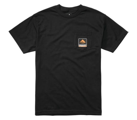 Emerica x Bronson Pocket Tee Black