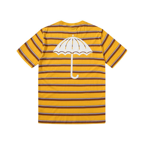 Helas Stripy Umbrella Tee Yellow