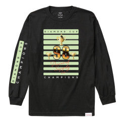 Diamond Cup Longsleeve Black