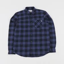 Carhartt LS Norton Shirt Norton Check/Navy