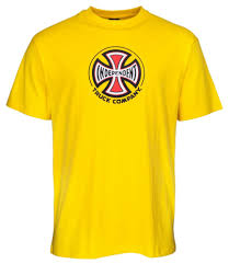 Independent Truck Co Tee Yellow