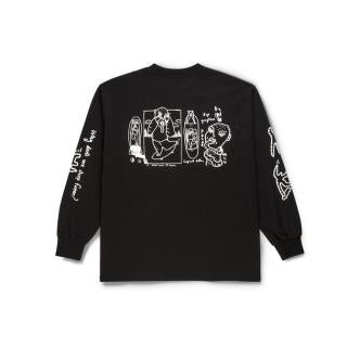 Polar Notebook Longsleeve Black