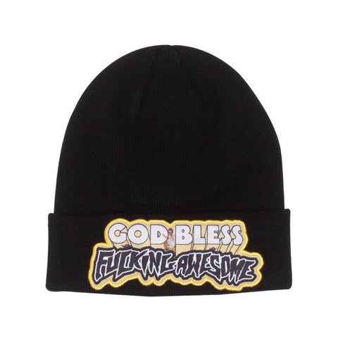 FA God Bless FA Beanie Black
