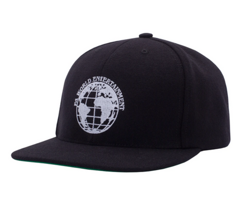 FA World Entertainment 6 Panel Cap Black