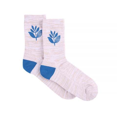 Magenta Mid Socks White/Blue (41-44)