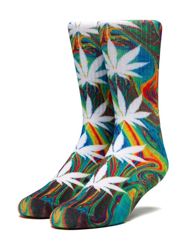 Huf Digital Plantlife Socks Green