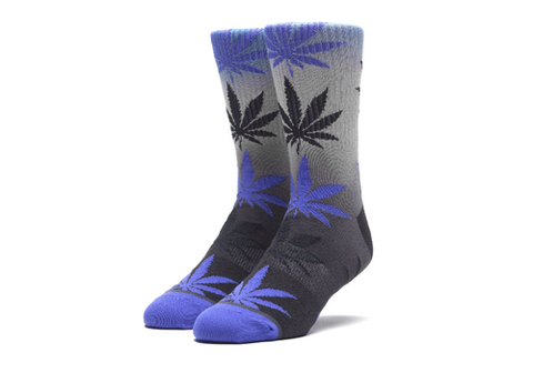Huf Gradient Dye Plantlife Socks Nebulas Blue