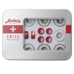 Andale Swiss Pro Rated Bearings (Extra Nuts)