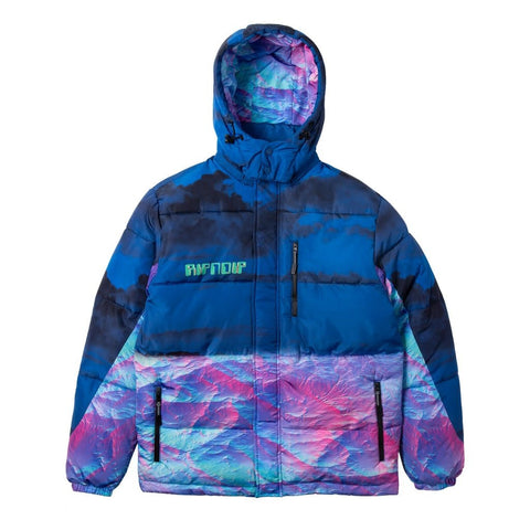 RipnDip Thermal Nermal Puffer Jacket Blue