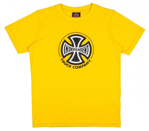 Independent Youth Truck Co Tee Yellow/Black