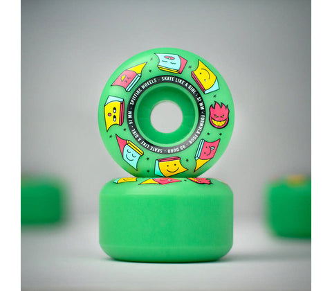 Spitfire Wheels F4 99a Skate Like A Girl Ice Mint 51mm