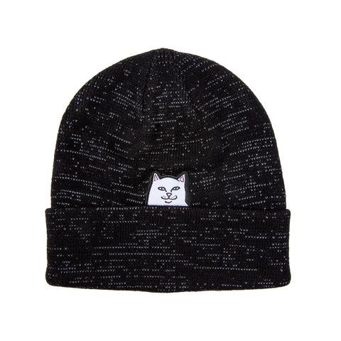 RipnDip Lord Nermal Beanie Black Reflective