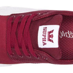 Supra Chino James Dark Ruby/White