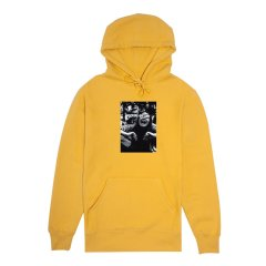 FA Scream French Terry Hood Mustard