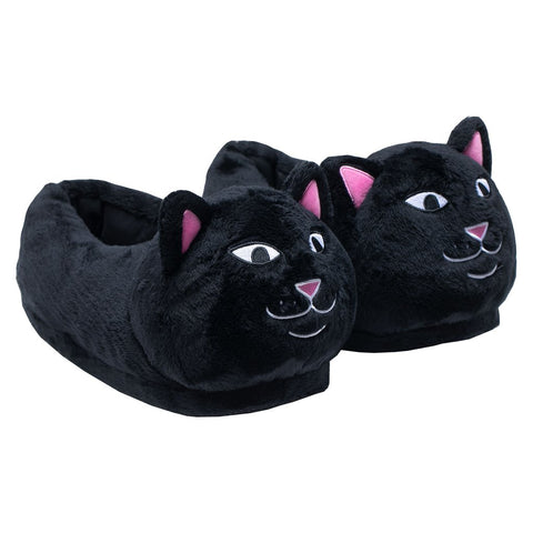 Ripndip Lord Jermal Fuzzy Slippers Black