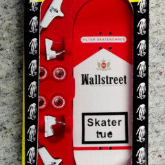 Close Up Fingerboard Wall Street