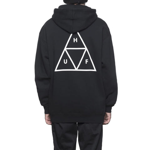 Huf Triple Triangle Essential Hood Black