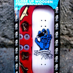 Close Up Fingerboard Riding Hand