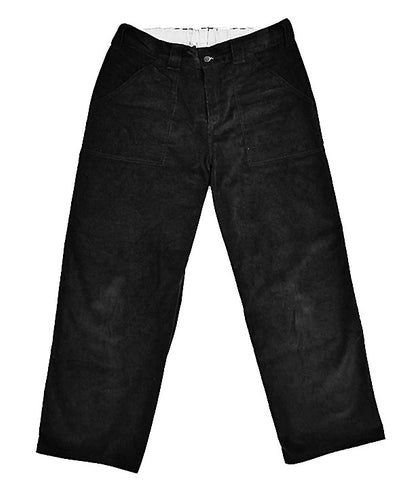Poetic Painter Pants Black Corduroy