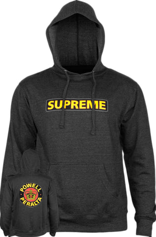 Powell Peralta - Supreme Hood Black