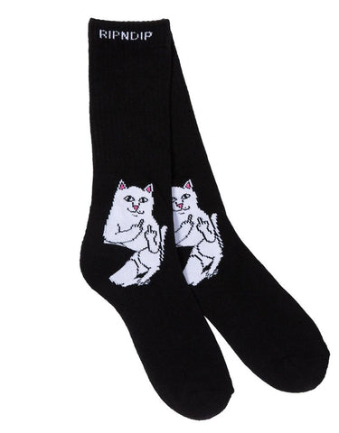 RipnDip Lord Nermal Socks Black