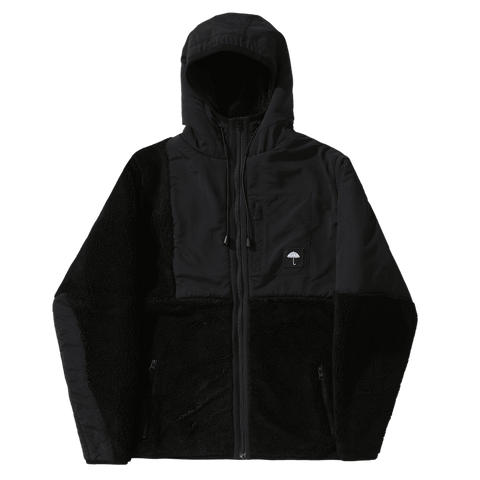 Helas Moonlight Hooded Zipper Black