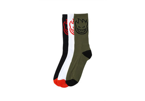 Spitfire Sock Bighead Three Pack