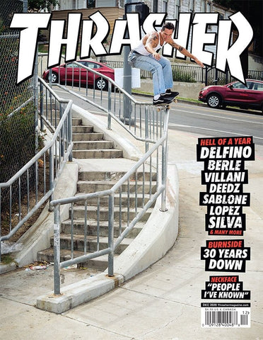 Thrasher Magazine December 2020